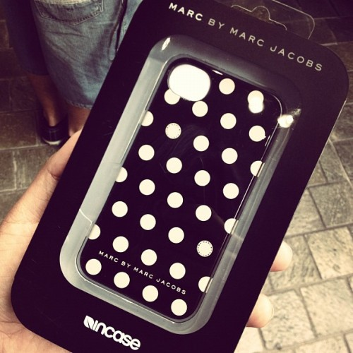 New case #marcjacobs #incase (Taken with Instagram)