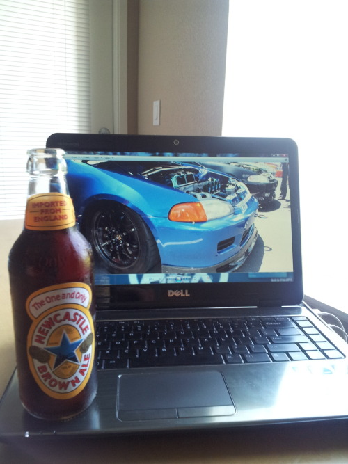 NewCastle Ale and EG6