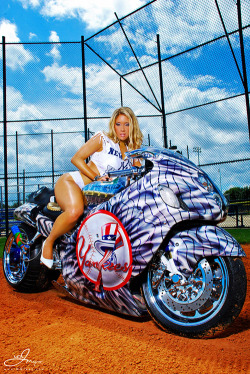 Orlando - Yankees - Batman Bike Mash Up
