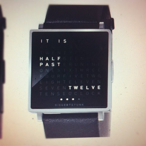 I want this watch! #getsome #birthday #watch (Taken with Instagram)