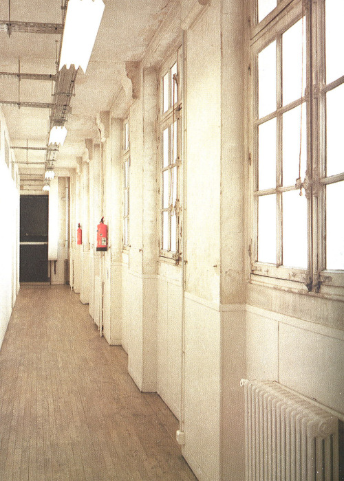 mmm-maisonmartinmargiela:    Maison Martin Margiela Headquarters. 163, rue Saint-Maur. Paris. Photography: Julien Oppenheim