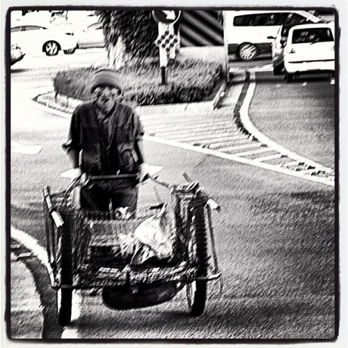 Trash Collector (Taken with Instagram)