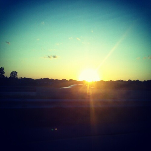 Hello sunset (Taken with Instagram)