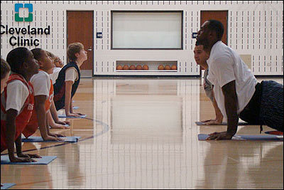 blackyogis:  Upward-Facing Dog    Urdhva Mukha Svanasana LeBron James
