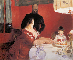 John Singer Sargent, Fête Familiale (The Birthday Party)