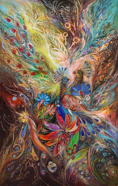 "fuckyeahpsychedelics:  ""The Three Keys"" by Elena Kotliarker"