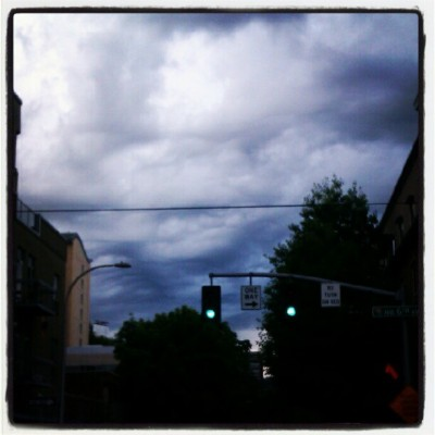 Radical clouds! (Taken with Instagram)