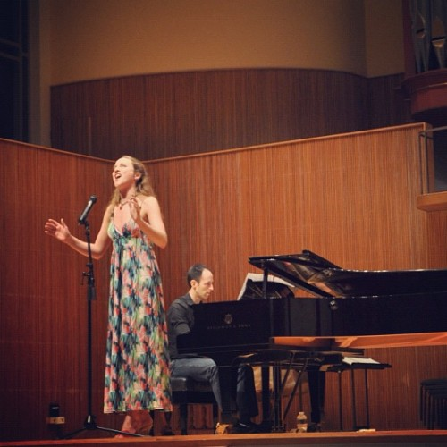 #oberlin Mock recital: Over the Rainbow. -MP (Taken with Instagram)