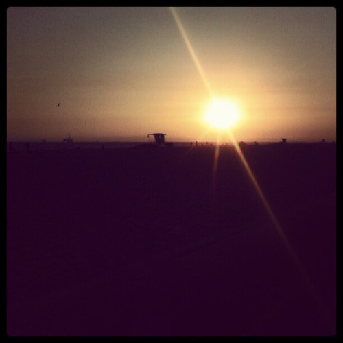 Saturday's #sunset (Taken with Instagram)