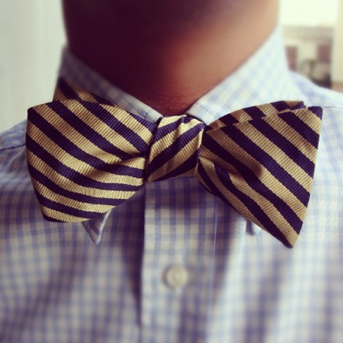 #brooksbrothers #jockey #stripe #bowtie #bow #tie #mrbenedik (Taken with Instagram)