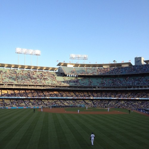 Taken with Instagram at Dodger Stadium