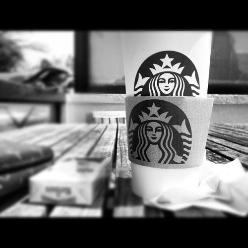 Morning #coffee # capuccino #starbucks #tanggaltama #boracay #chill #sunday (Taken with Instagram)