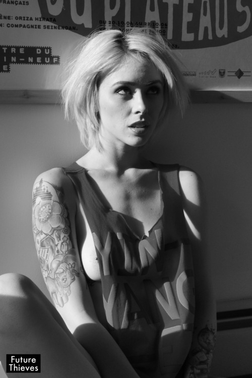 Alysha Nett x Future ThievesApril 2012