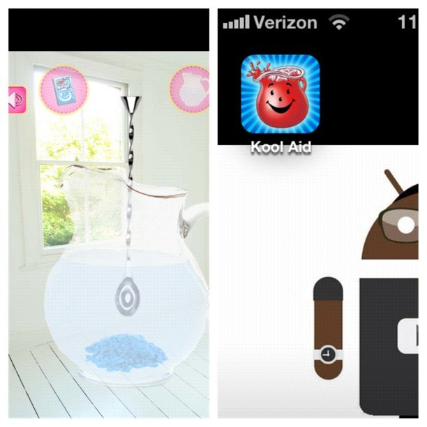Why do I even have this app? #koolaid #iphone #picstitch (Taken with Instagram)