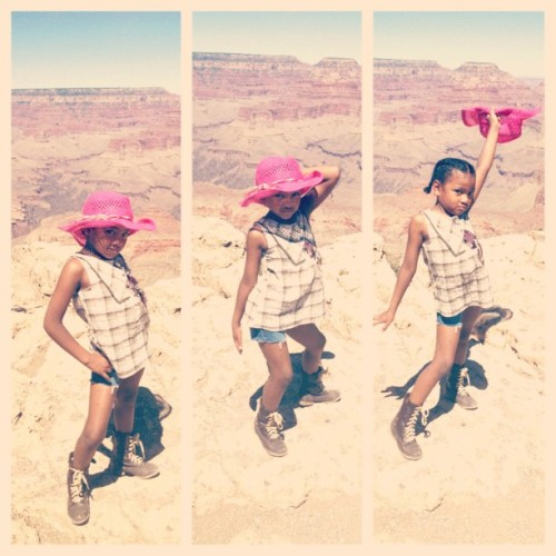 Soleil at the Grand Canyon #kids #kidsfashion #soleildemavie (Taken with Instagram at Grand Canyon National Park)