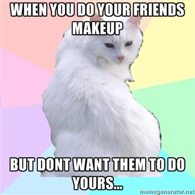 fuckyeahbeautyaddictkitty:  submitted by honestlychic  This is so me!