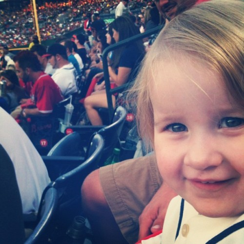 Lennon… Loving life at the Braves game… :) #atlantabraves #atlanta #photographs #iphone #picoftheday #popular #gmy #gmystudios #nature #iphonography #instagramers #photos #instagramer #instagood #sports (Taken with Instagram)