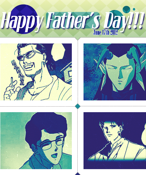 ugh not too fond with the design but…Happy Father's Day! <3
