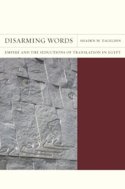 "Tageldin, Shaden M. Disarming Words: Empire and the Seductions of Translation in Egypt. Berkeley: University of California, 2011. PDF edition HERE. (Zip file password: archive) 'If attraction, assimilation, even love are dominant refrains in nineteenth- and early-twentieth-century Egypt's literary and cultural response to a colonizing Europe, why is this so? How do the emergence and the persistence of this ideology of ""love"" challenge the domination/resistance binary of empire and postcolonial studies? And given the centrality of translation in modern Egypt's cultural encounter with the West, how might translation be connected to this ideology of ""love""? These are central questions that I engage in this book. Disarming Words explores why the colonized tend to ""love"" their colonizers as often as they hate them and how seduction haunts both empire and decolonization.'"