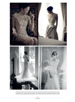 helloweddingdiary:  Antie Damayanti by Shadtoto Prasetio for CLARA love Magazine
