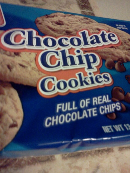 I didn't know fake chocolate chips existed