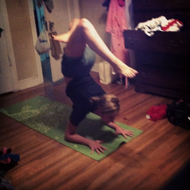 Playing with pincha gsthings:  Yogini @nattydoo (Taken with Instagram)