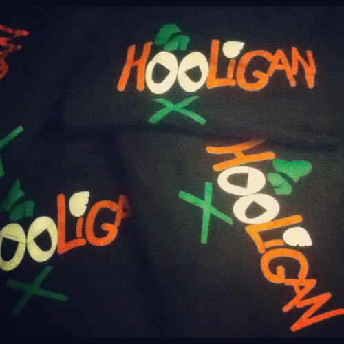 Goofy Hooligan Tees are now available! Sorry for the wait! Because of the long delay, EVERYTHING IS ON SALE! Shop here: www.mindblownarticles.net (Taken with Instagram)