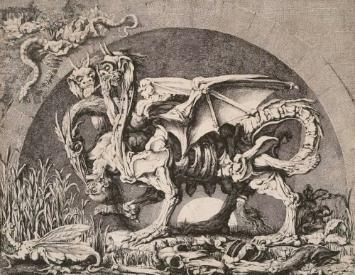 poisonwasthecure:  The Chimera Jean Louis Desprez ca. 1777-84