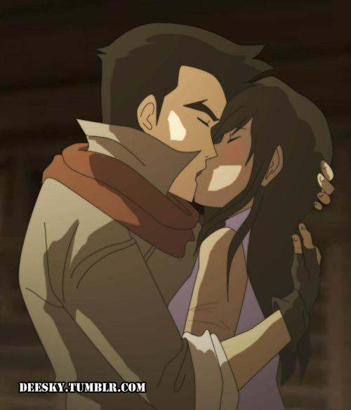 "What if Mako was upset with Asami just because he thought she was talking about ""other kiss""? By the way, Korra's hair down looks so good in this episode, I hope to see her like this again in the series."