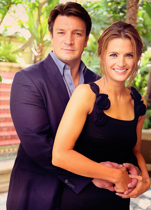 caskett-caught-in-the-act:  stop-pretending-now:  writing-a-story:  starkreactor:    Ahahah perfect !  Trust the Castle fandom to make something like this on day 5 of the four month wait   This has been around for a year. :D