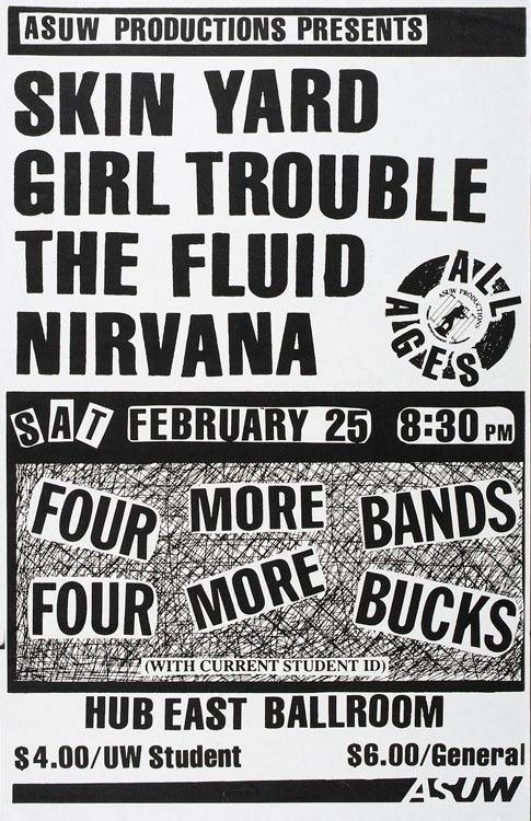 2/25/89 - University of Washington, Seattle, WA.