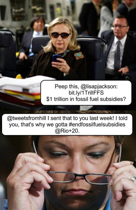 Original image by Kevin Lamarque for Reuters. @tweetsfromhill #endfossilfuelsubsidies