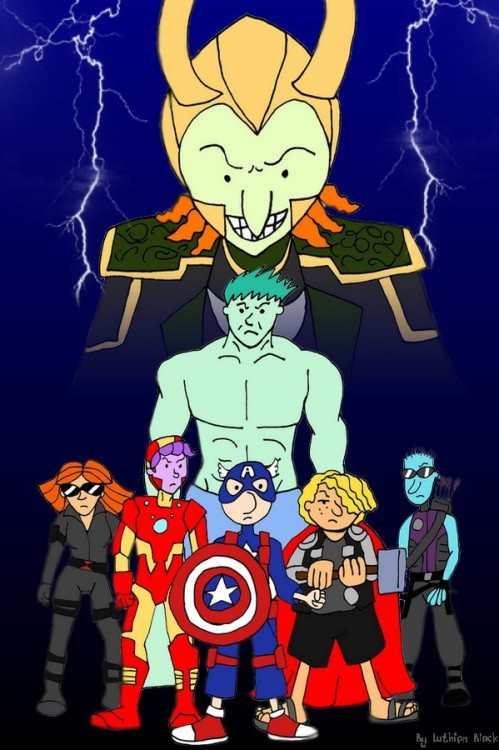 The Bluff-vengers by ~luthien-black