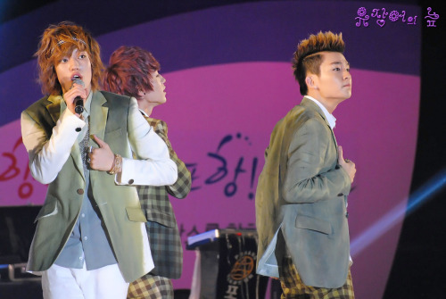 June 9, 2012 - Teen Top at the 50th Anniversary of Pohang Port