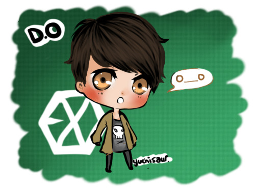 - D.O and his O___O face <3