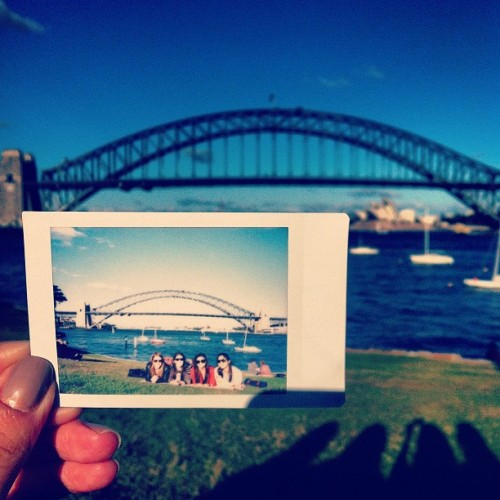 Sun, grass and Sydney Harbour for @tina_g's birthday! #sydney #harbour #sun #grass (Taken with Instagram)