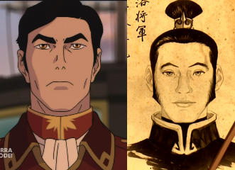 ekr-rosvall:  look at how much General Iroh resembles Lu Ten (Uncle Iroh's son) LOOK AT IT THESE FEELS