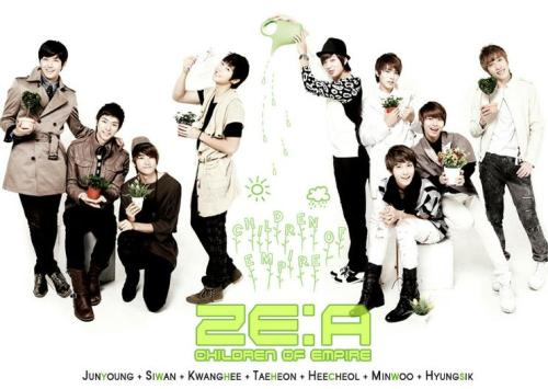 ZE:A is too cute