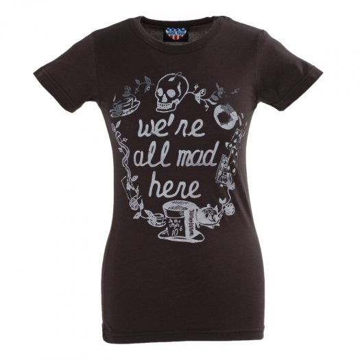 Alice In Wonderland - We're All Mad Here Tee