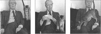 Jorge Luis Borges. The company you keep, the size of their whiskers.