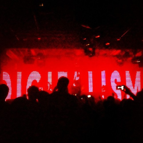 Digitalism at Grand Central  (Taken with Instagram)