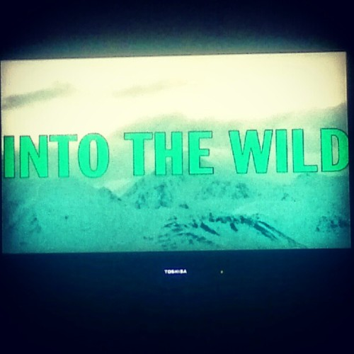 Favorite movie EVER. #IntoTheWild  (Taken with Instagram)