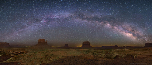 Monument Valley Galactic Arc