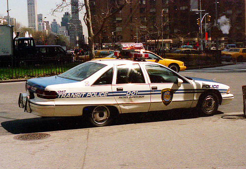 New York City Transit Police Caprice Classic.Manhattan, 1995.