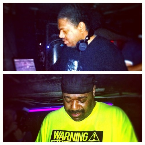 #KerriChandler & #ChezDamier were killing it last night, playing back2back for 6 hours at #BeCool #realdeejays #realhousemusic #dope #sonar #barcelona #dailypic #instadaily (Taken with Instagram)