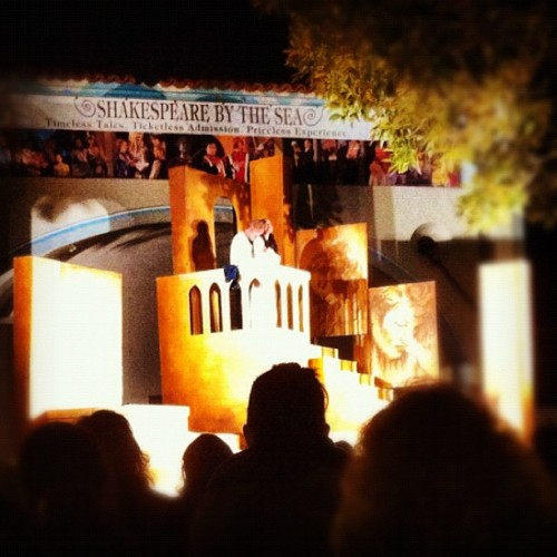 Romeo & Juliet, Shakespeare by the Sea (Taken with Instagram)