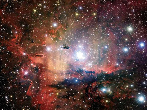 the-astronomyblog:  NGC 281: Cluster, Clouds, and Globules