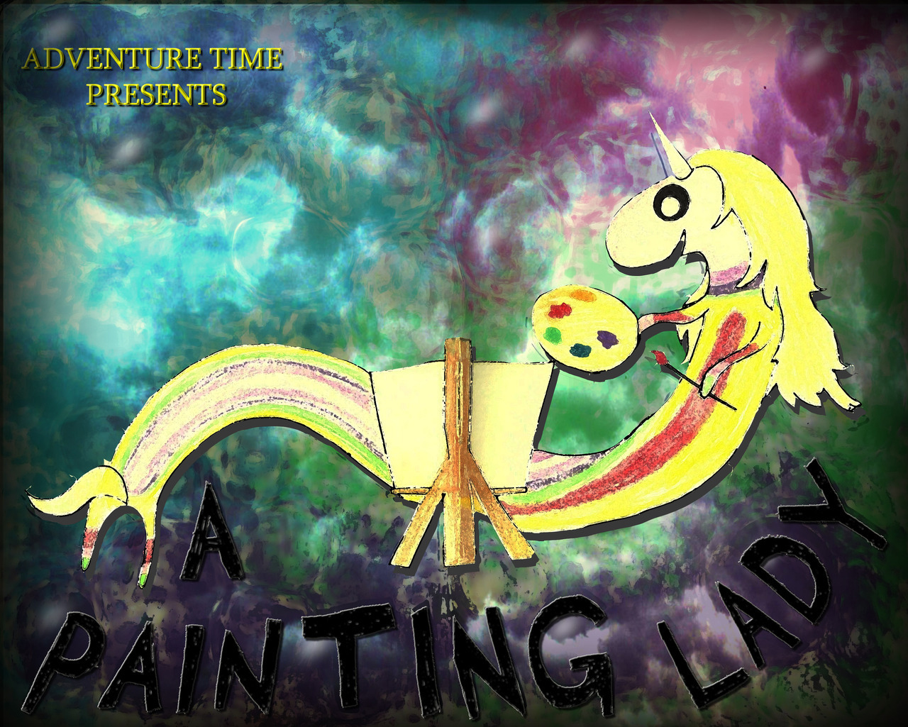 A Painting Lady - An Adventure Time Spec Script This is my spec script and storyboard I've been working on for the past month. I had a lot of fun writing this and developing my ideas.  I'm just looking for feedback from other fans of the show :)  Thank You!'  Thanks event for the submission.