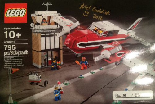 LEGO Inside Tour Exclusive 2012: Piper Airplane (4000012) (via brickset.com)