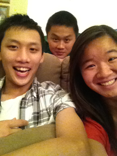 Meet my derp cousins, Nathan and Ryan. We're so sexy kkkkk. Don't judge. It's not nice. ^^